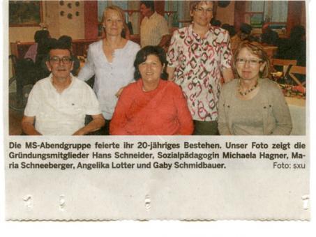 Pressebericht Mittelbayerische Zeitung